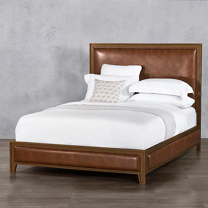 Alternate image 1 for Avery Iron Surround King Bed Frame in Copper