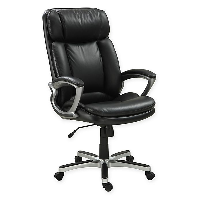 Serta Executive Big Tall Office Chair Bed Bath Beyond