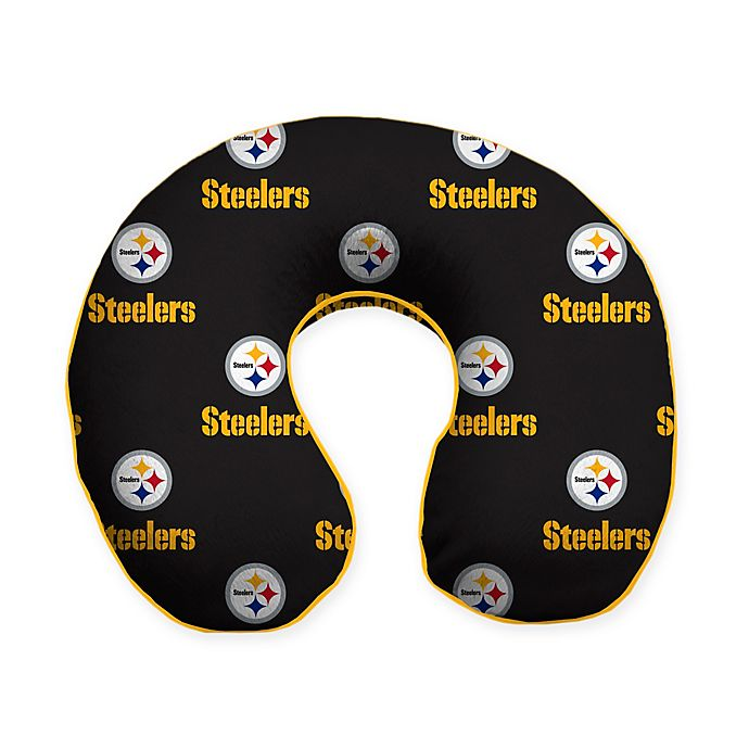 fa546dee8 NFL Pittsburgh Steelers Memory Foam U-Shaped Neck Travel Pillow ...