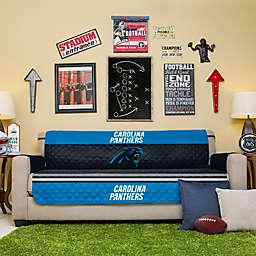 NFL Carolina Panthers Sofa Cover