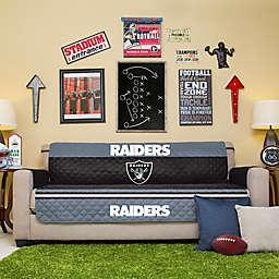 NFL Las Vegas Raiders Sofa Cover