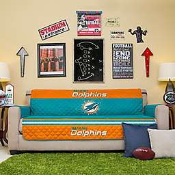 NFL Miami Dolphins Sofa Cover