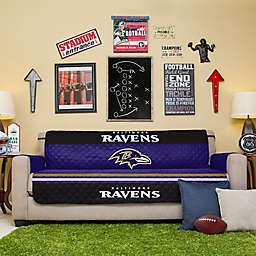 NFL Baltimore Ravens Sofa Cover
