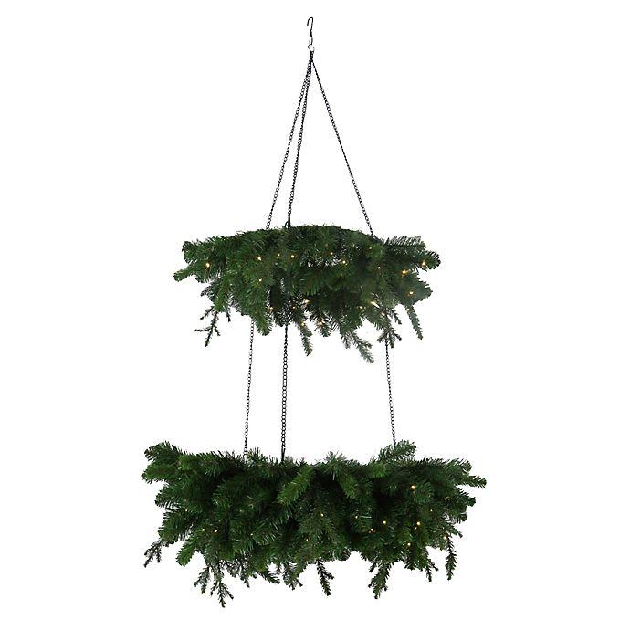 Alternate image 1 for Beekman 1802 2-Tier Chandelier Wreath