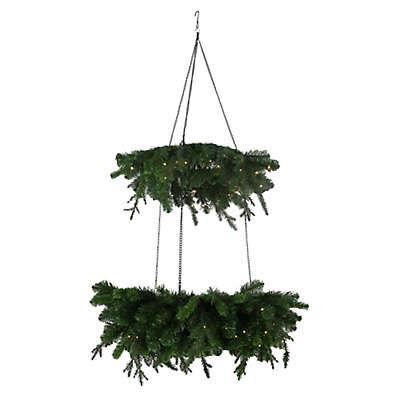 Beekman 1802 2-Tier Chandelier Wreath