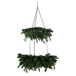 Beekman 1802 2-Tier Chandelier Wreath