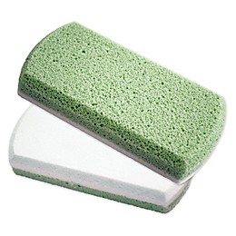Earth Therapeutics® Smoothing Foot Stone in Green