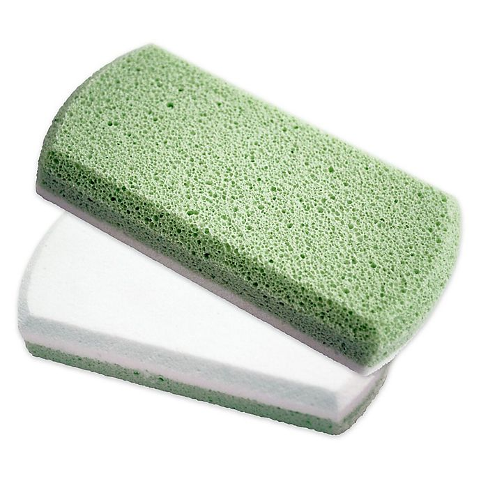 Alternate image 1 for Earth Therapeutics® Smoothing Foot Stone in Green