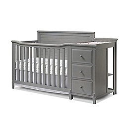Sorelle Furniture Berkley Panel 4-in-1 Crib and Changer