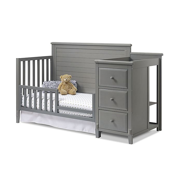 Alternate image 1 for Sorelle Toddler Guard Rail in Weathered Grey