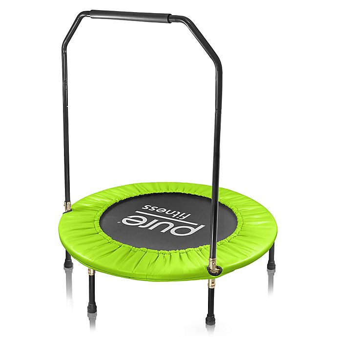 Alternate image 1 for Pure Fitness 40-Inch Trampoline with Handrail