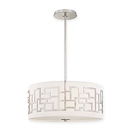 George Kovacs® Alecia's Necklace™ 3-Light Pendant in Brushed Nickel