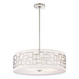 George Kovacs® Alecia's Necklace™ 4-Light Pendant in Brushed Nickel