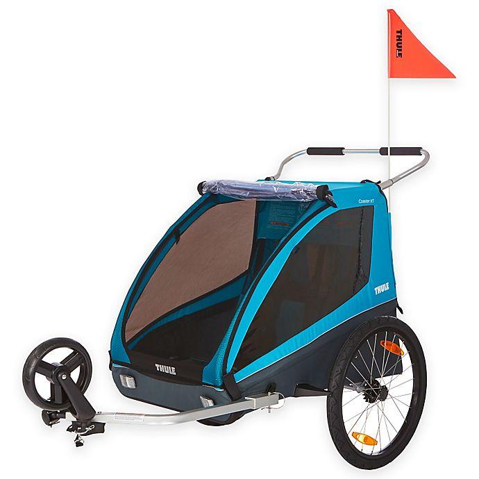 Thule® Kids Coaster XT Bike Trailer in Blue | Bed Bath ...