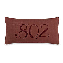 Beekman 1802 Lockport 10-Inch x 20-Inch Rectangular Throw Pillow in Henna
