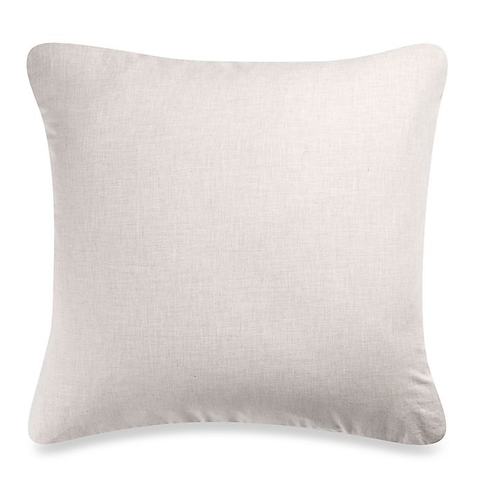 Alternate image 1 for Wamsutta® Vintage Cotton Cashmere European Pillow Sham in Oatmeal