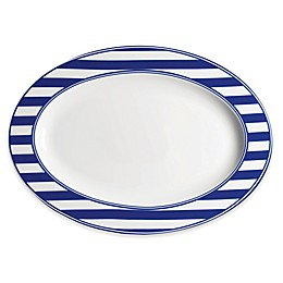 Caskata Beach Towel Stripe 14-Inch Oval Platter