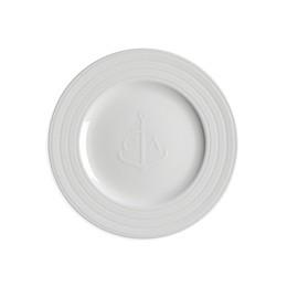 Caskata Cambridge Stripe Salad Plate