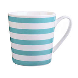 Formations Striped Mug in Turquoise