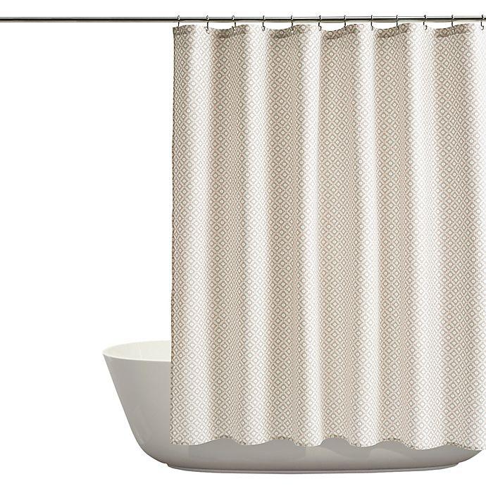 Alternate image 1 for Santorini Shower Curtain