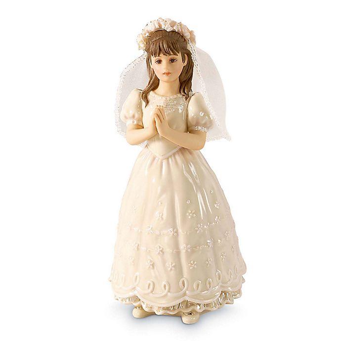 Alternate image 1 for Lenox® Sandra Kuck First Communion Brunette Figurine