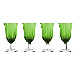 Qualia Meridian Green ced Tea Glasses (Set of 4)