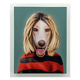 Pets Rock™ Grunge 16-Inch x 20-Inch Canvas Wall Art