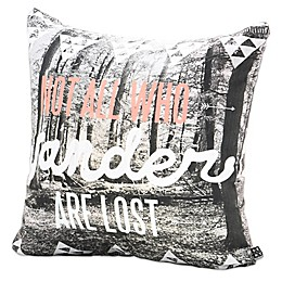 Deny Designs Wesley Bird Wander Square Throw Pillow
