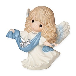"""Precious Moments® """"Guide Us To Thy Pefect Light"""" Angel Figurine"""
