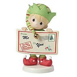 """Precious Moments® """"Joy, Peace, and Christmas Cheer In Here"""" Elf Figurine"""