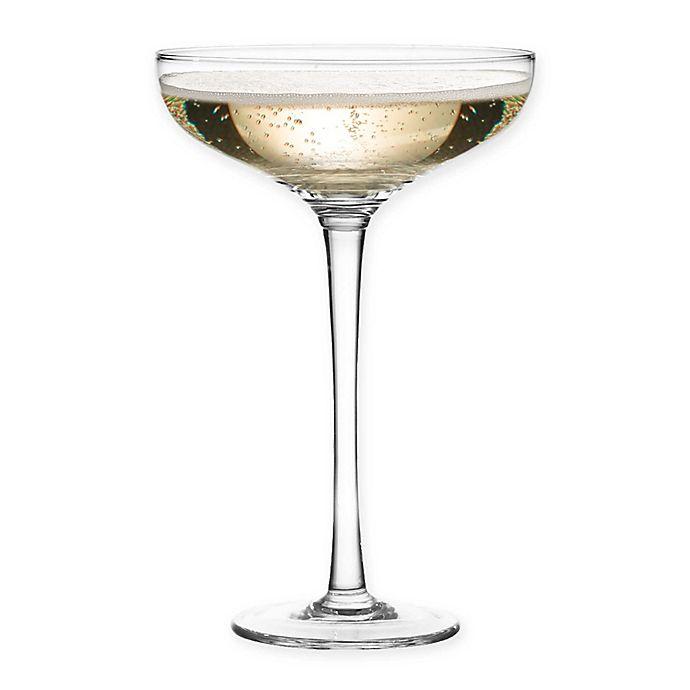 Alternate image 1 for Qualia Scandal Champagne Glasses (Set of 4)