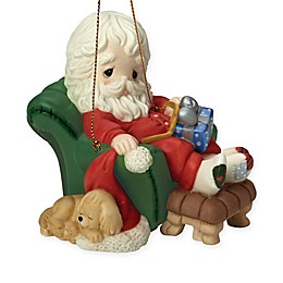 """Precious Moments® """"And To All A Goodnight"""" Santa Ornament"""