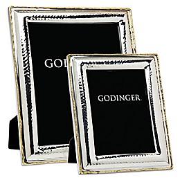 Godinger Artisan Loft Hammered Stainless Steel Picture Frame