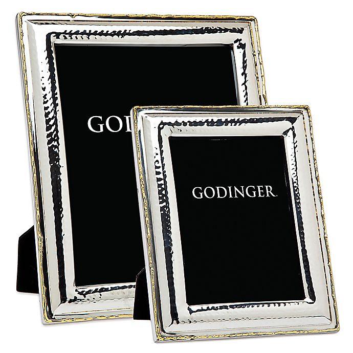 Alternate image 1 for Godinger Artisan Loft Hammered Stainless Steel Picture Frame
