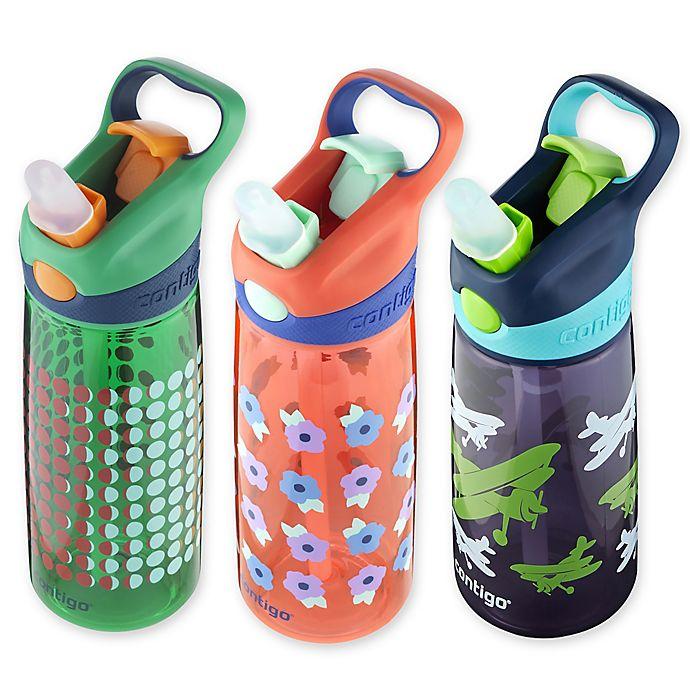Alternate image 1 for Contigo® AUTOSPOUT® Straw Striker Chill Water Bottle