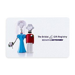 """The Bridal & Gift Registry"" Couple Gift Card"