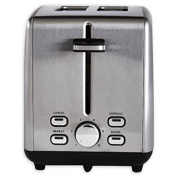 Alternate image 1 for Professional Series Stainless Steel 2-Slice Toaster
