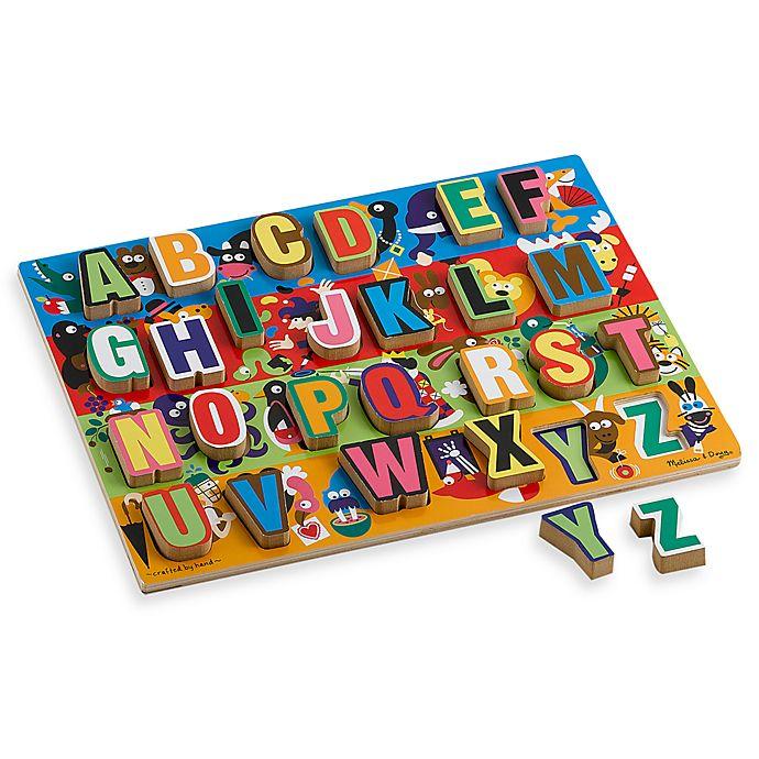 Alternate image 1 for Melissa and Doug® Jumbo ABC Chunky Puzzle
