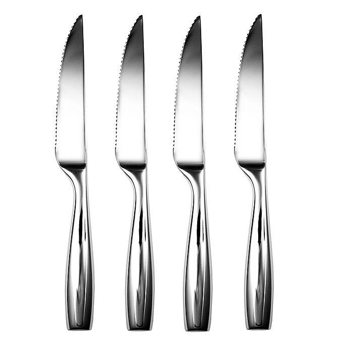 Alternate image 1 for Gourmet Settings Moments Steak Knives (Set of 4)