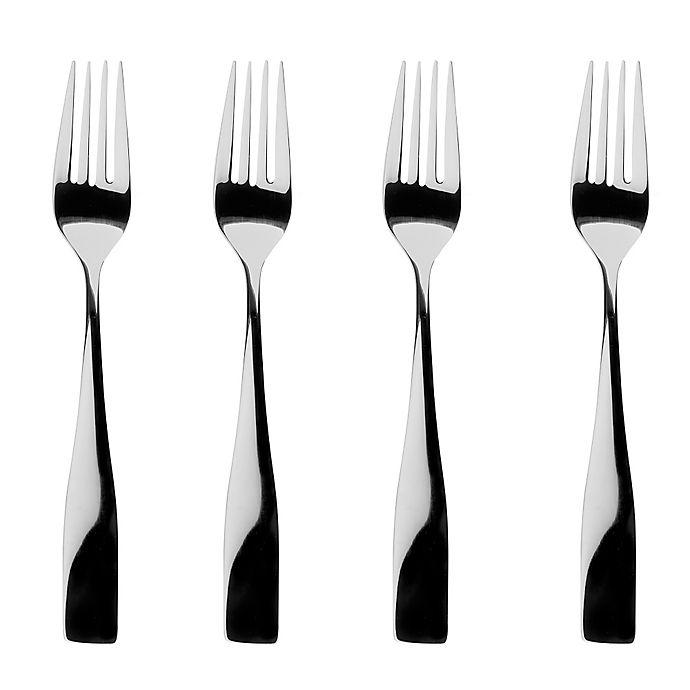 Alternate image 1 for Gourmet Settings Moments Salad Forks (Set of 4)