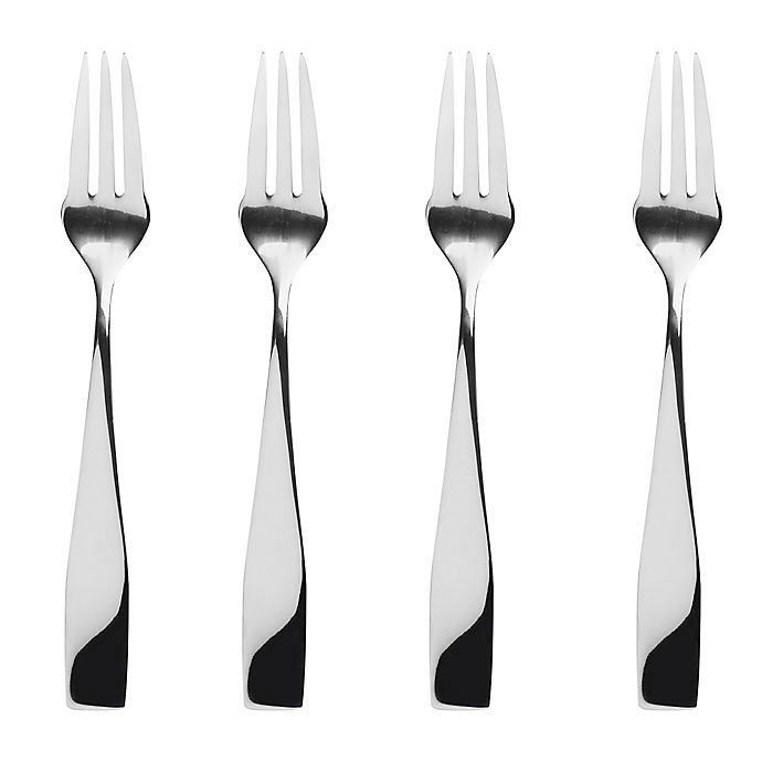 Alternate image 1 for Gourmet Settings Moments Cocktail Forks (Set of 4)