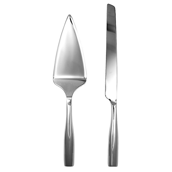 Alternate image 1 for Gourmet Settings Moments 2-Piece Cake Knife and Server Set