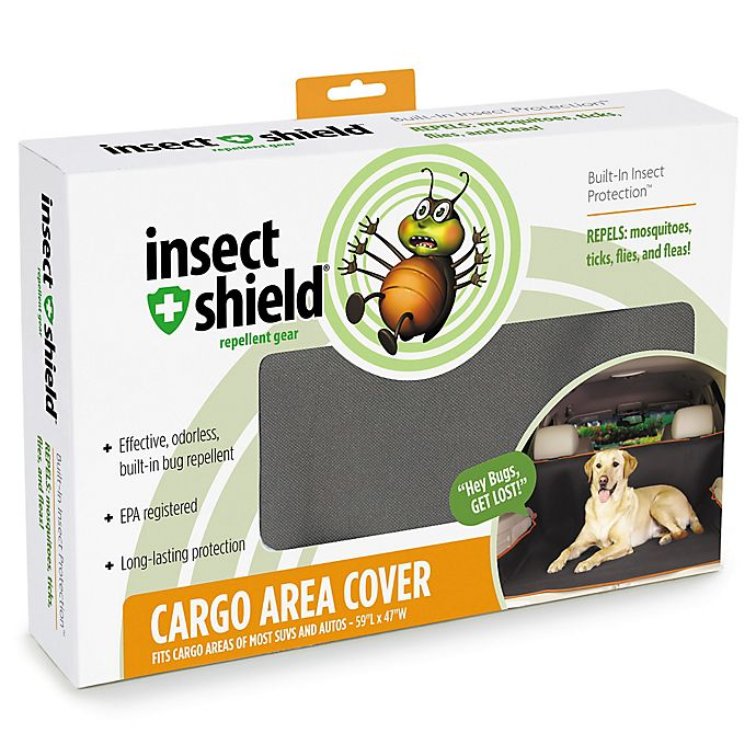 Alternate image 1 for Insect Shield® Cargo Cover in Grey