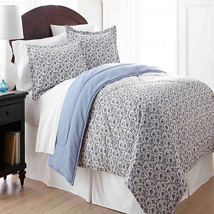 Alternate image 1 for Micro Flannel®  King Comforter Set in Jacobean