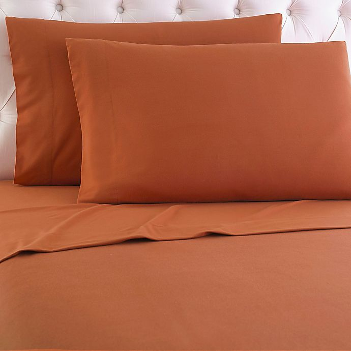 Alternate image 1 for Micro Flannel® Solid Sheet Set