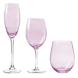 Qualia Radiance Wine Glass Collection in Amethyst