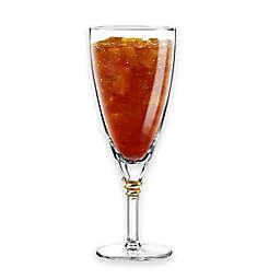 Qualia Helix Gold Iced Tea Glasses (Set of 4)
