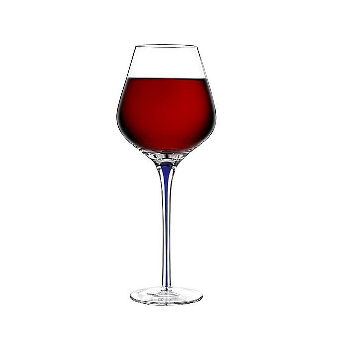 Alternate image 1 for Qualia Tempest Goblet Glasses in Cobalt (Set of 4)