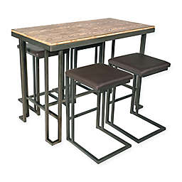 LumiSource Roman Counter Table and Stools