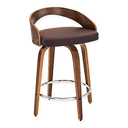 LumiSource Grotto Counter Stools (Set of 2)